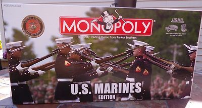 Monopoly US Marines Edition, Out of Print Collector's Item, Complete.  Best offers accepted.  #monopoly #usmarines #games