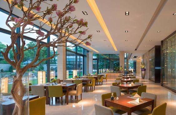 Valais Terrace Café | View towards gardens