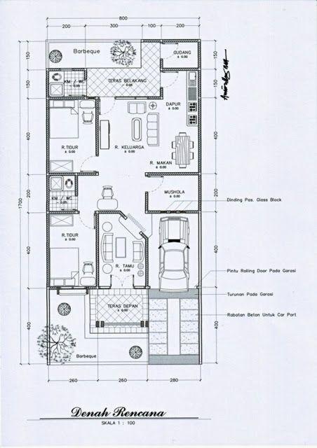Gambar Desain Rumah Minimalis 7 X 15  desain rumah minimalis ukuran 7 x 9 2020 rumah minimalis