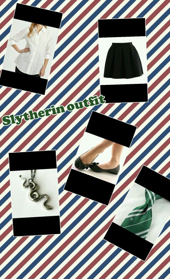 Slytherin outfit i'm going to wear soom