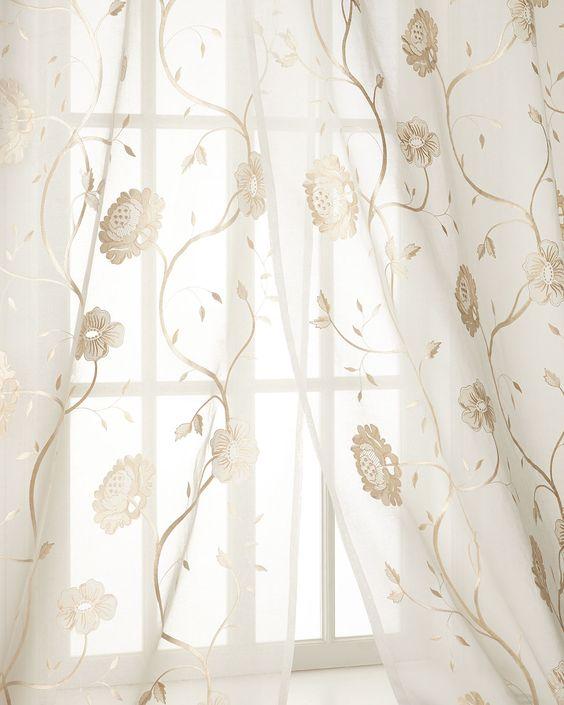 Sheer Curtains 96 sheer curtains : Each 96