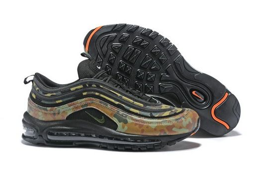 Nike Air Max 97 Premium Qs County Camo Japan Pale Olive Black Safari Aj2614203 Fashion 2018 Shoe Sneakers Nike Fasion