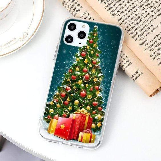 Cartoon Merry Christmas Tree Thin Tpu Soft Cases Ipadcase Ipadcase In 2020 Iphone Cases Iphone Phone Case Sale