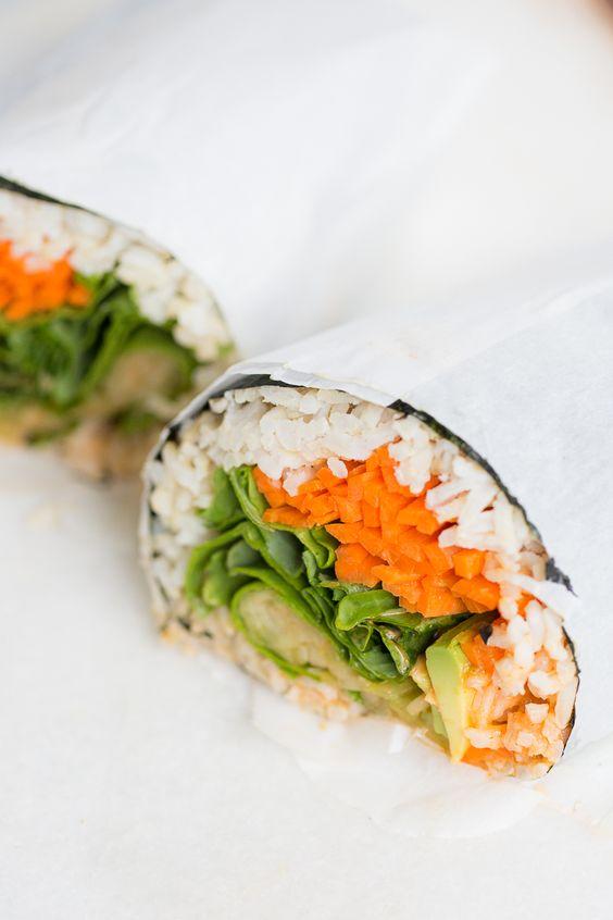 Sushi burritos: