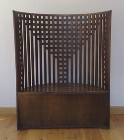 charles rennie mackintosh style and design on pinterest. Black Bedroom Furniture Sets. Home Design Ideas