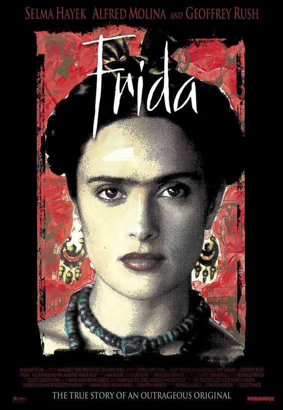 Salma Hayak as Frida in the wonderful movie of her life.
