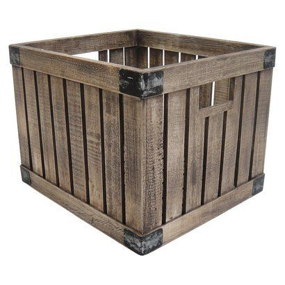 Storage storage pinterest toys milk crates and target for Where can i buy wooden milk crates