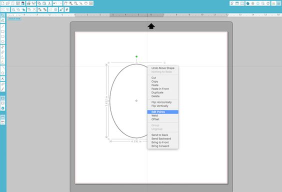 point-editing...designing from scratch in Silhouette Studio