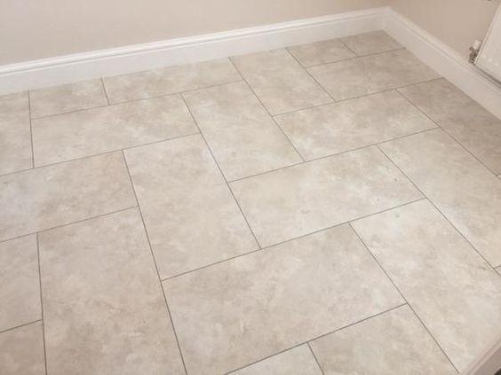 Kitchen Floor Red Grouting Strips