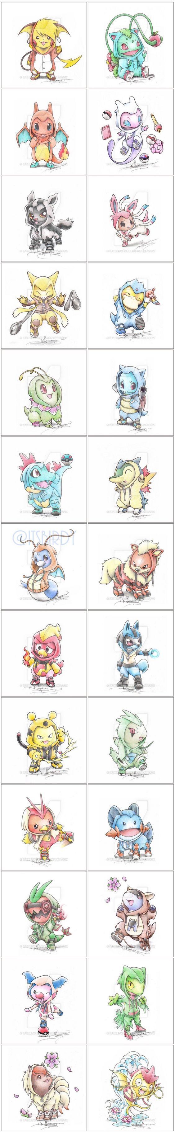 These Onesie-Wearing Pokémon Win All The Cuteness Points http://www.helpmedias.com/pokemongo.php
