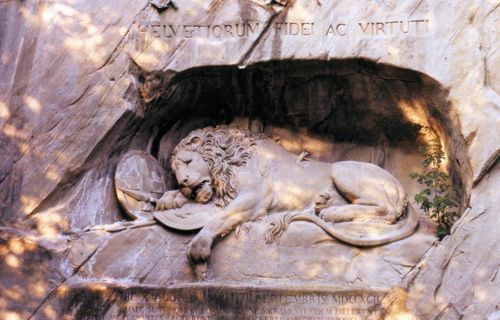 The Dying Lion of Lucerne