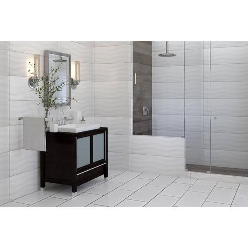 Pure White Glossy Ceramic Wall Tile Floor Decor Ceramic Wall Tiles Wall Tiles Small Bathroom Remodel