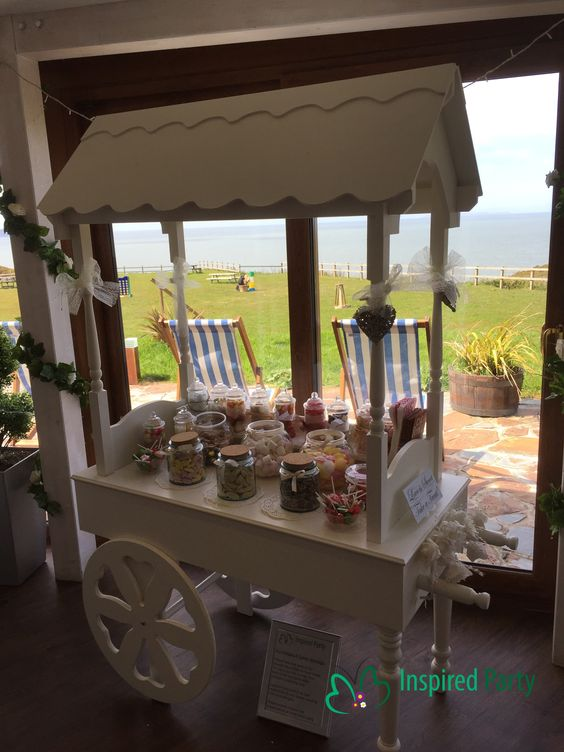 Candy Cart Inspired Party www.inspiredparty.co.uk Hire now #northdevon