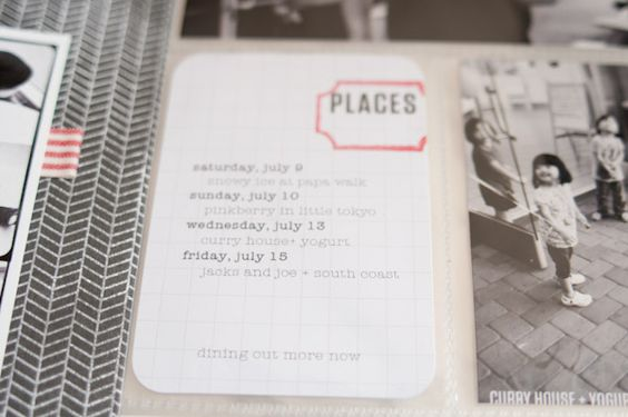 How to print on Project Life journaling cards