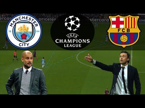 Tactical Highlights Of The Season Man City Vs Barcelona Youtube Pep Guardiola Soccer Coaching City