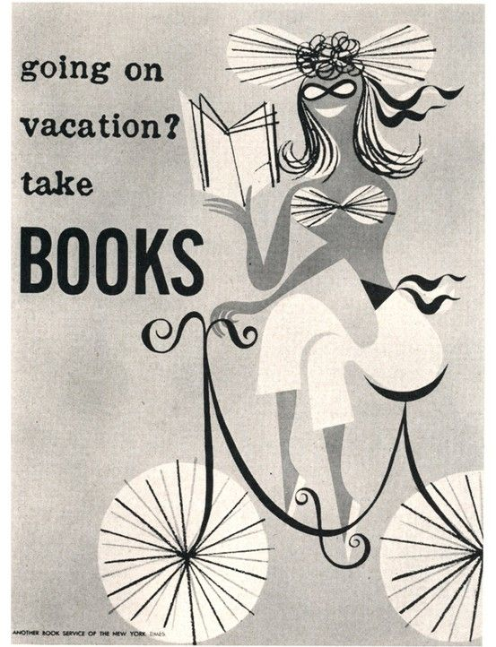 Going on vacations? Take books.