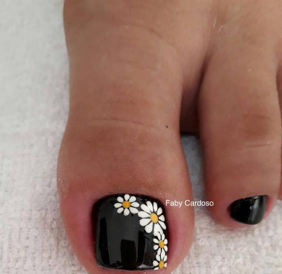FLOWERS NAIL ART   FRENCH NAIL ART #flowers #french