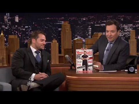 Henry Cavill COMPLETE Interview On The Tonight Show Starring Jimmy Fallon - YouTube
