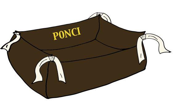 Le Moelleux de Ponci, coussin pour chien, dog accessorizes, dog bed www.ponci.fr