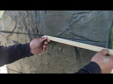 Como Hacer Fachadas Estilo Bloques De Piedra Artificial Youtube Unas Con Piedras Piedra Artificial Muros De Piedra
