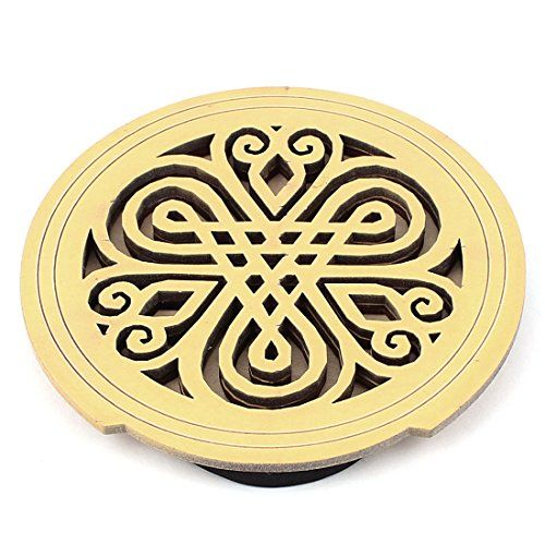 Uxcell Acoustic Electric Guitar Feedback Buster Hollow Knotting Pattern Wood Sound Hole Cover Block Knotting Patterns Electric Guitar Acoustic Electric Guitar