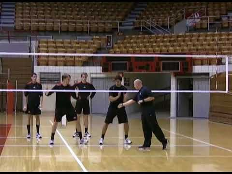 The Ohio St Men S Volleyball Blocking Concepts Pt 1 Youtube