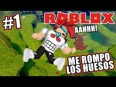 Me Rompo Todos Los Huesos En Roblox Roblox Broken Ragdolls Juegos Roblox En Español Youtube Roblox Juegos Romper