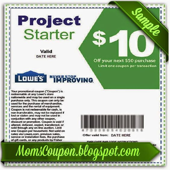 Lowes 10 off coupon january 2018