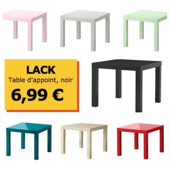 Tutoriel pour transformer un table basse IKEA LACK en pouf