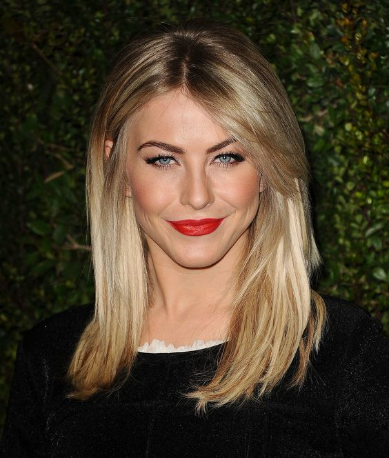 hair with bangs styles my hair julianne hough hair and hair color on 8014