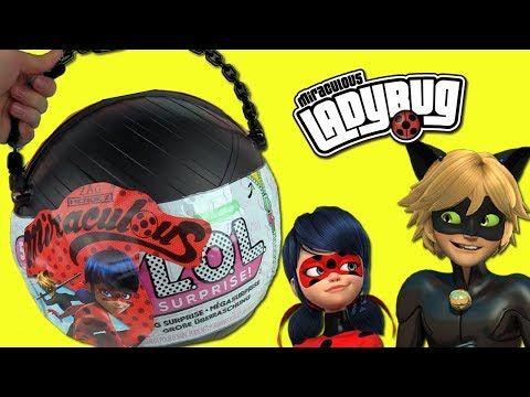 Lol Big Surprise Custom Ball Opening Diy Miraculous Ladybug