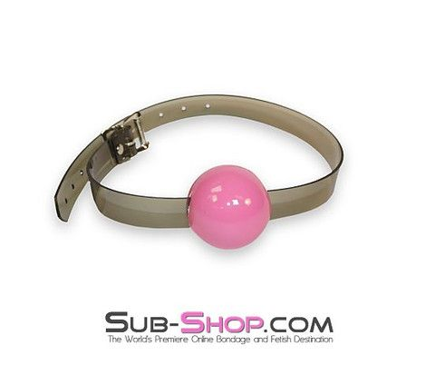 2409A Sultry Night Grey Luxe PVC Ball Gag, Candy Pop Pink   Incredible and unique, our Sultry Grey Luxe PVC strap ball gags are absolutely wonderful. (You know it's going to be wonderful to be bound by Grey! *wink*) Unfortunately, I don't think the photos quite do justice to our sexy Grey Luxe PVC, but that just means you're going to LOVE the way your new bondage gear looks in person even more than you love it here in the photos!