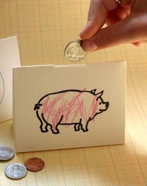 Piggy bank diy piggy bank and fun diy on pinterest for Make your own piggy bank
