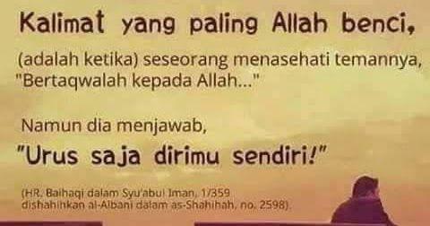 Kata Kata Mutiara Dari Al Quran Dan Hadist
