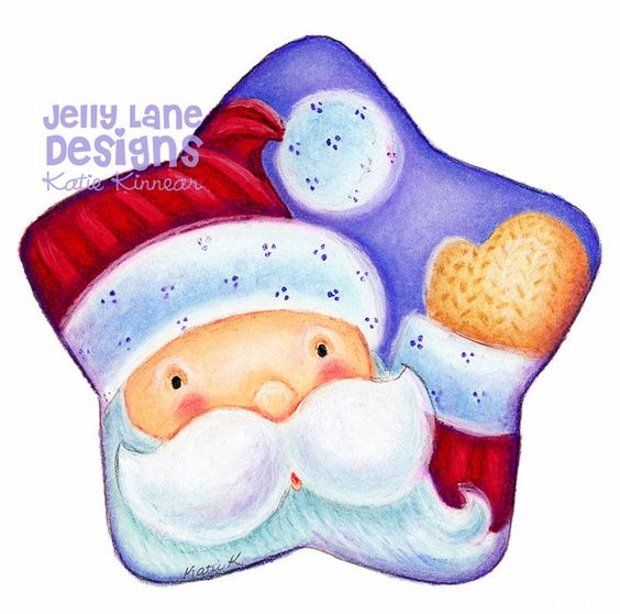 Santa #2 ~copic marker, pastel