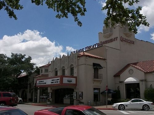 Original Highland Park Village Theater built in the 1930's.