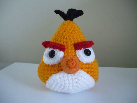 Ravelry: Angry Birds - Yellow Bird pattern by Adorable ...