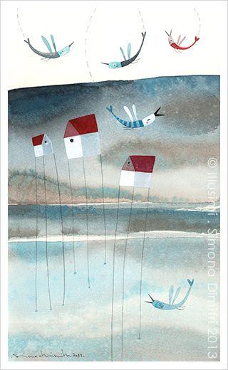 the happines of birds-Simona Dimitri