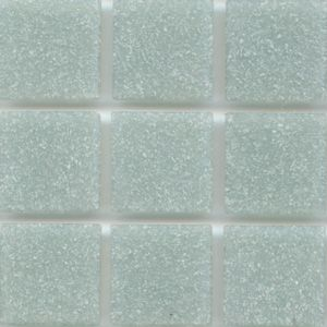 Mosaic glass tile modwalls opaque gray Brio Color Dove Gray