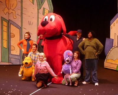 Clifford the Big Red Dog at the Wilbur Theatre