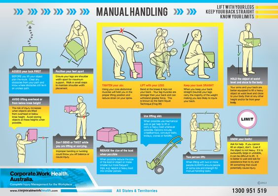 Manual Handling  Safety  Health