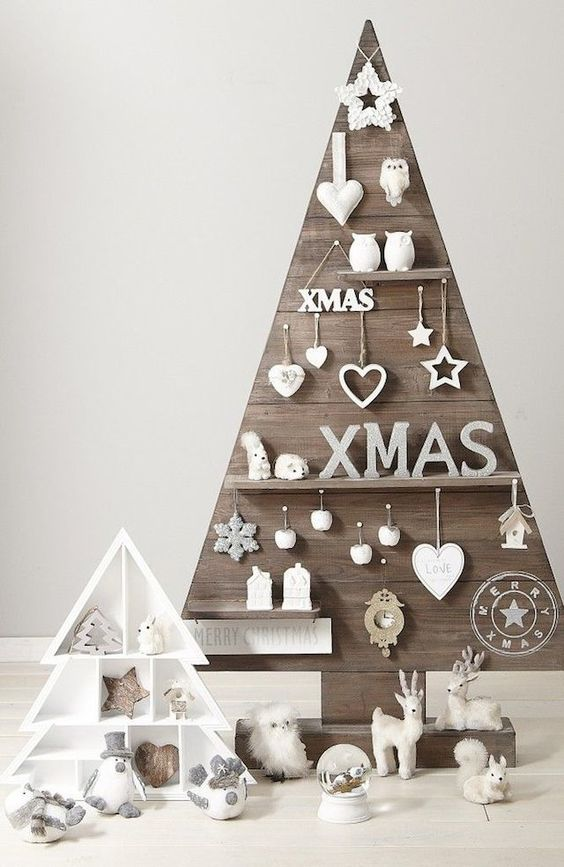 9 alternative Christmas tree ideas - French By Design: