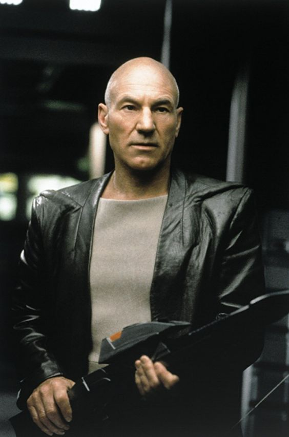 Patrick Stewart in Star Trek: Insurrection (1998)