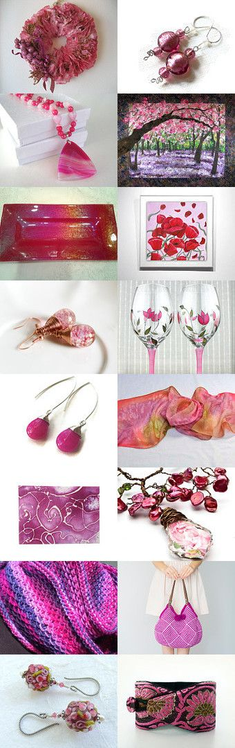 Tourmaline Pink For October by Allison and Sheryl on Etsy--Pinned+with+TreasuryPin.com