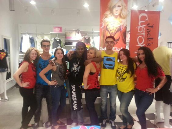 Kamisama and the employees at STYLEXCHANGE in Laval - Jack of all Trades Clothing