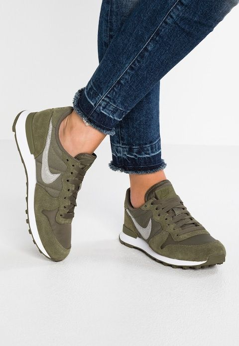 INTERNATIONALIST - Baskets basses - med olive/white ...