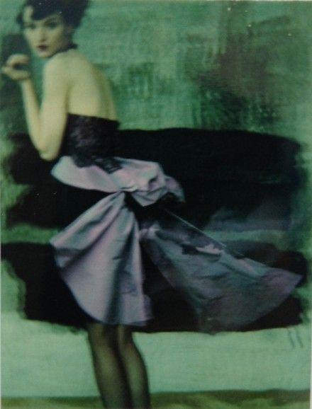 """Theresa pour Mme Figaro"" 1994 - Sarah Moon:"