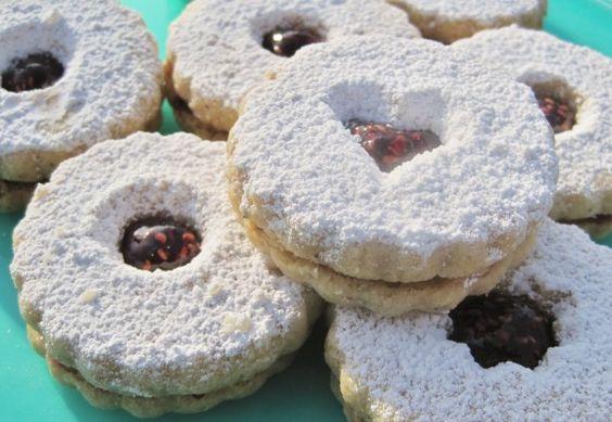Linzer Cookies Dorie Greenspan) Recipe - Food.com