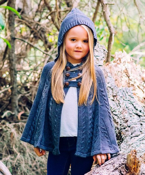 Look at this Gray Hooded Cape - Toddler & Girls on #zulily today!
