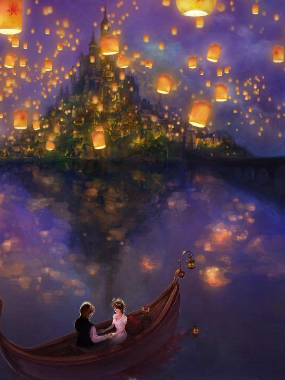 Disney fan art of Tangled.